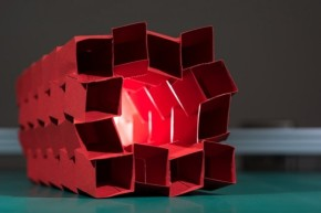origami. tubos cremallera expandidos